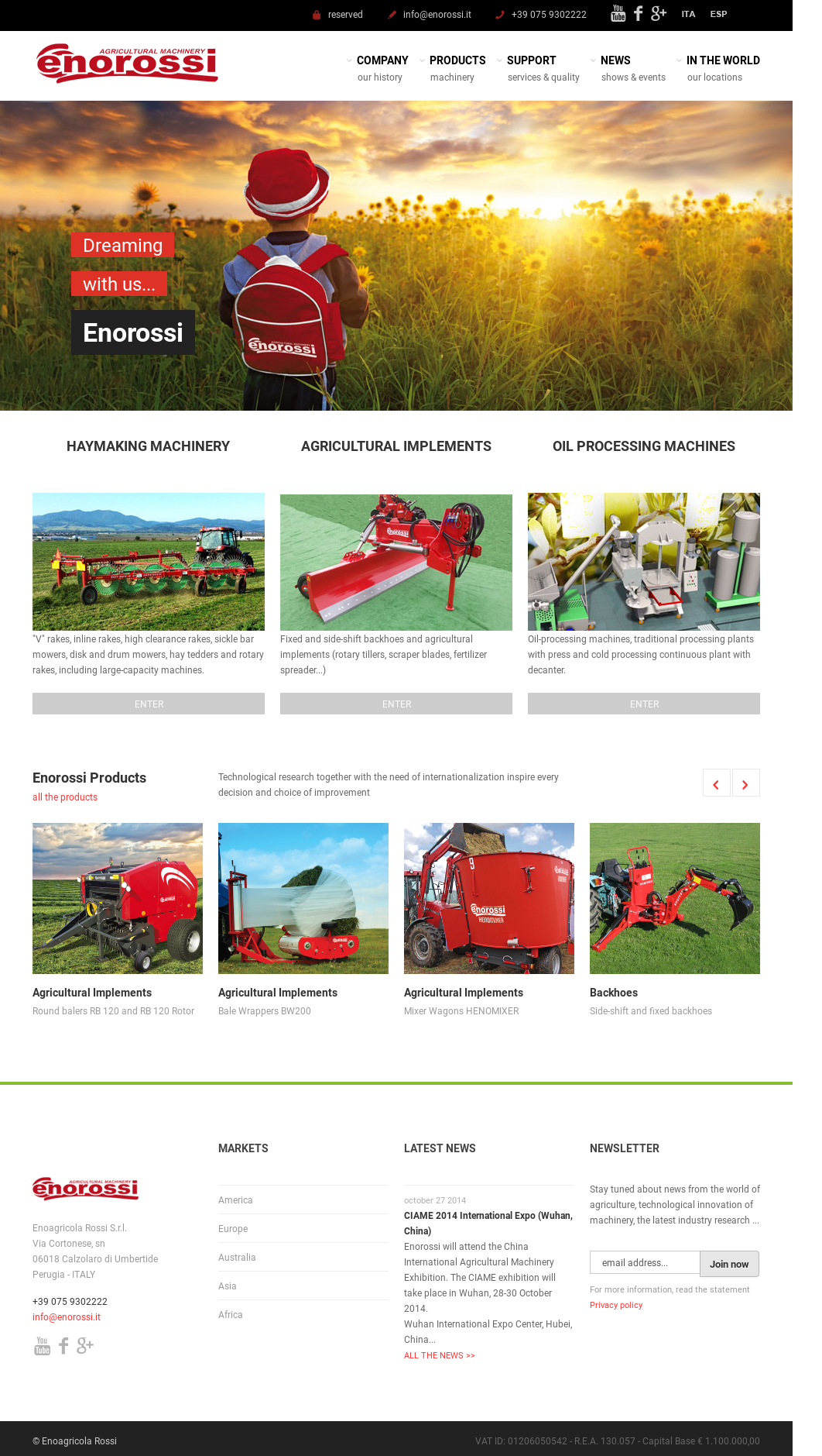 Enoagricola Rossi Srl Competitors, Revenue and Employees