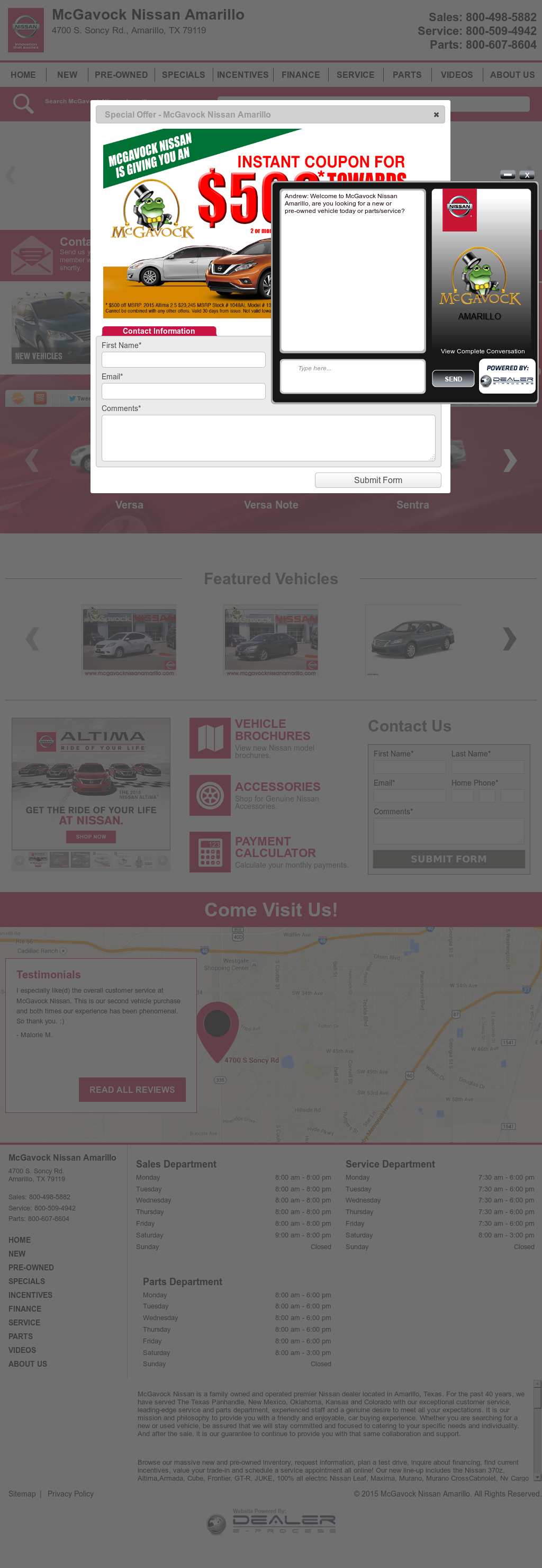 Mcgavock Nissan Amarillo Competitors, Revenue And Employees   Owler Company  Profile