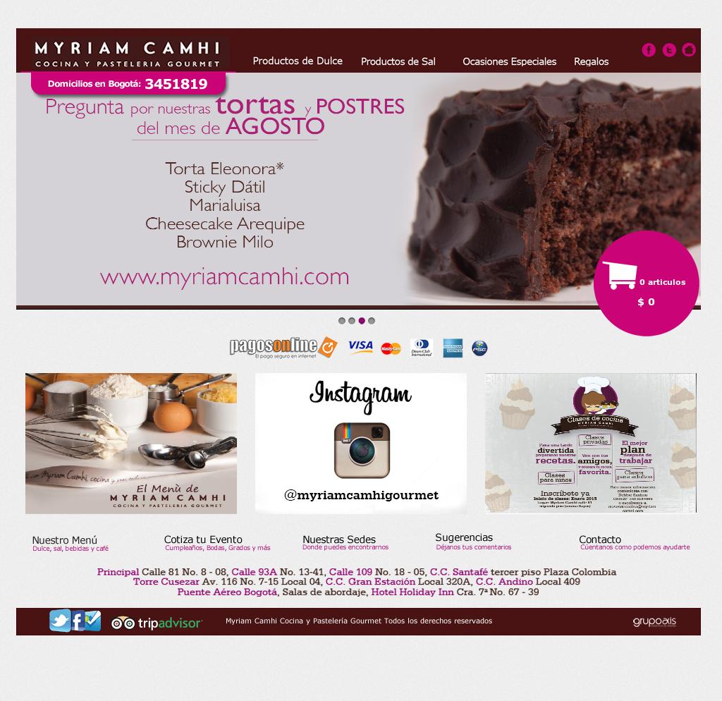 Myriam Camhi Cocina Y Pasteleria Gourmet Competitors, Revenue and