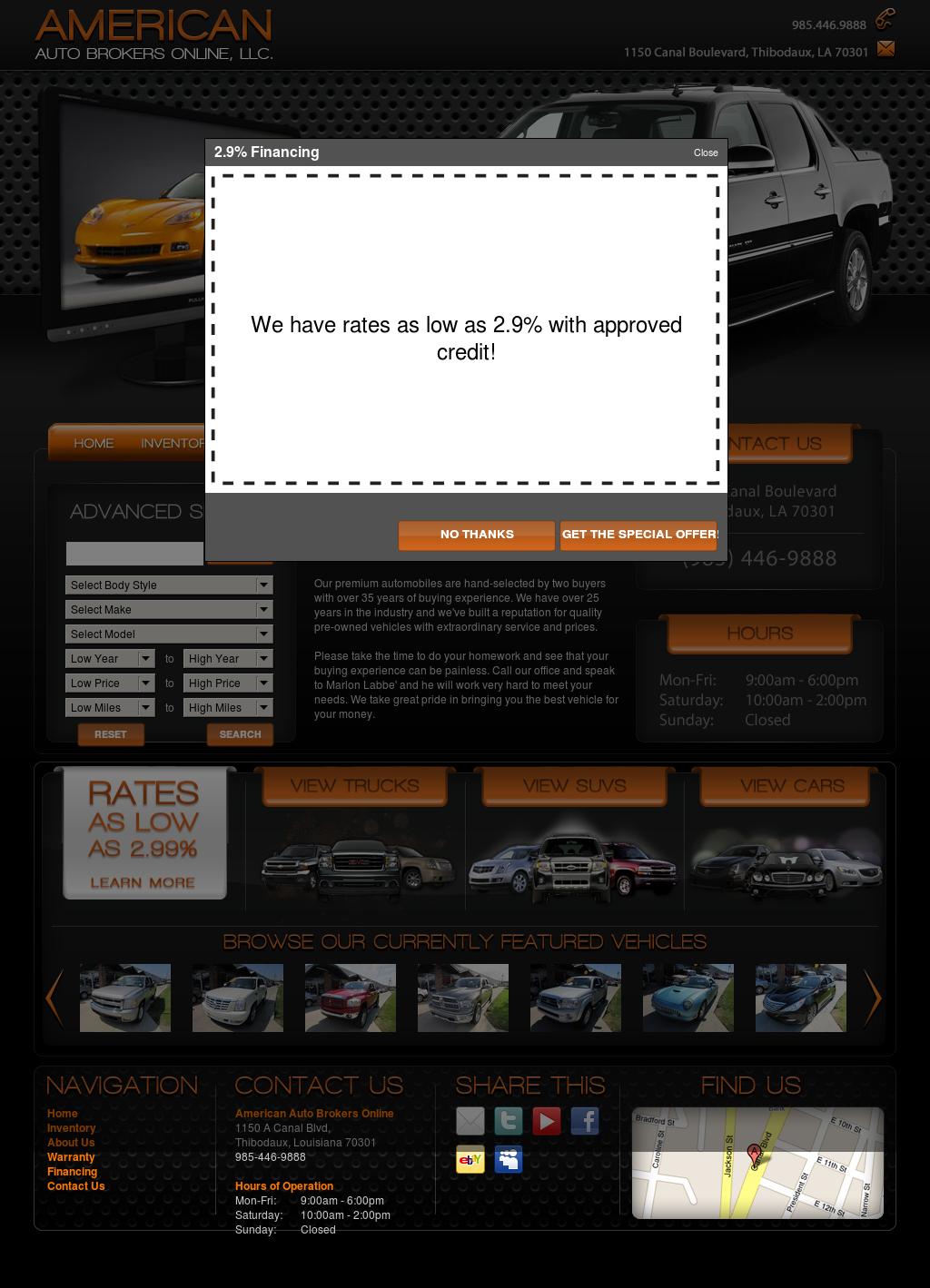 American Auto Brokers >> American Auto Brokers Online Competitors Revenue And