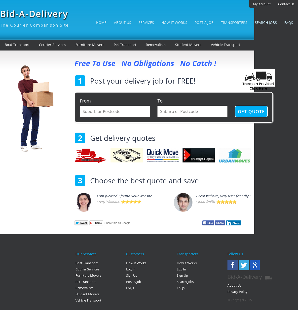 Bid-a-delivery Competitors, Revenue and Employees - Owler