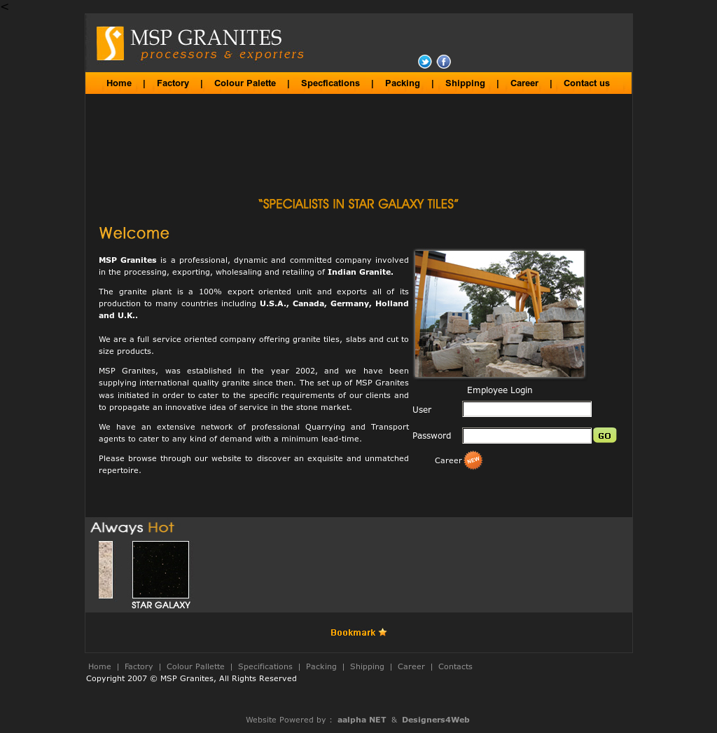 Msp Granites Competitors, Revenue and Employees - Owler