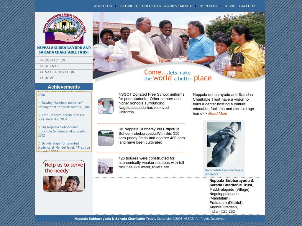 Neppala Subbarayudu & Sarada Charitable Trust Competitors