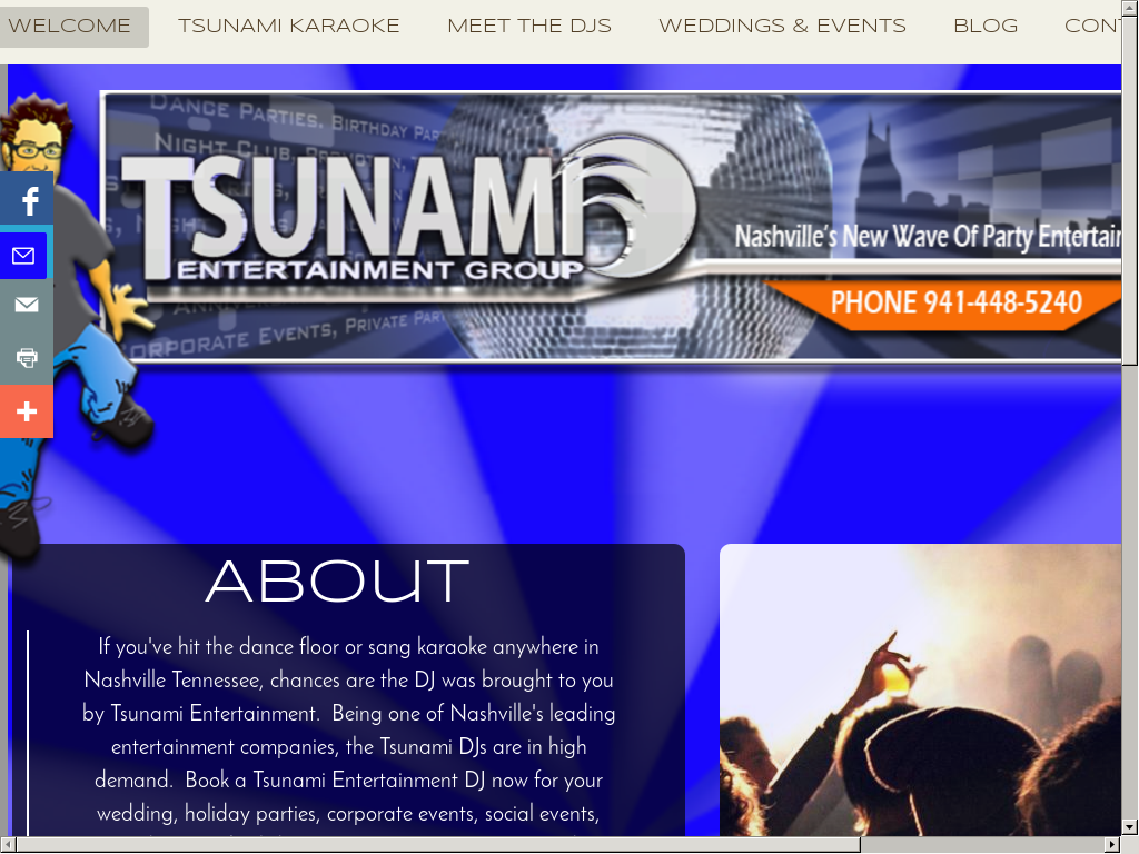 Tsunami Entertainment Group Competitors, Revenue and