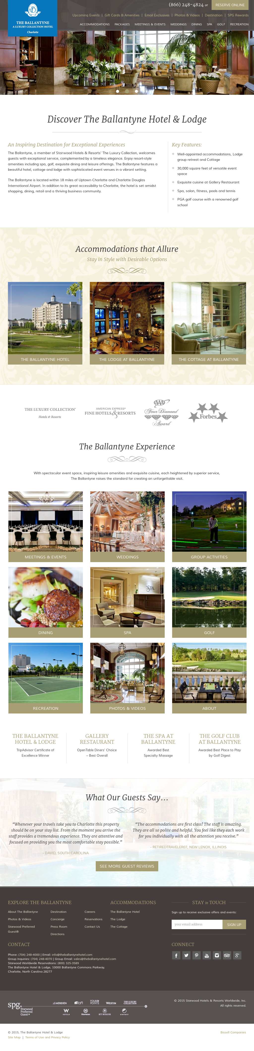 Ballantyne Hotel Compeors Revenue And Employees Owler Company Profile