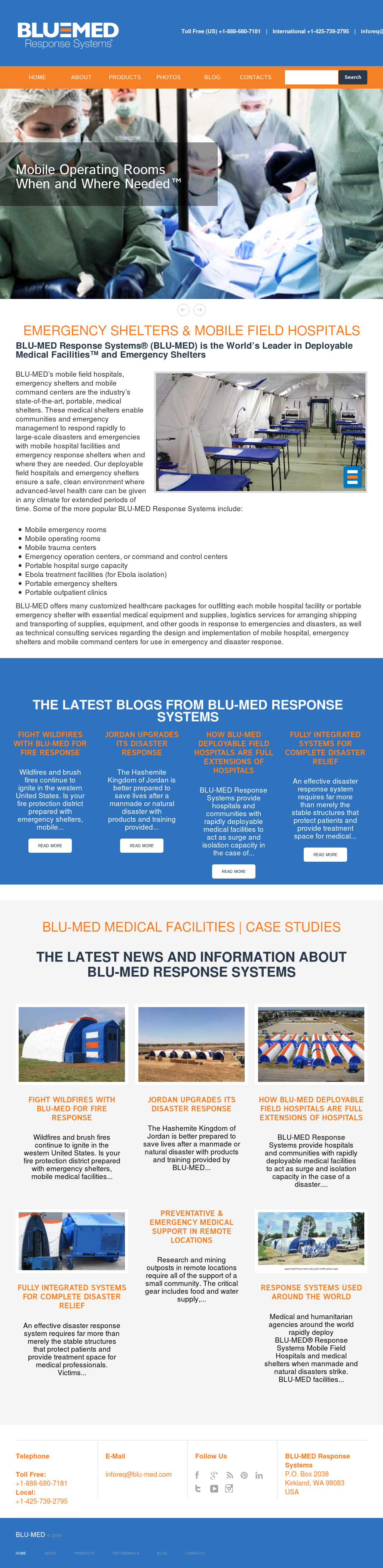 BLU-MED Response Systems Competitors, Revenue and Employees