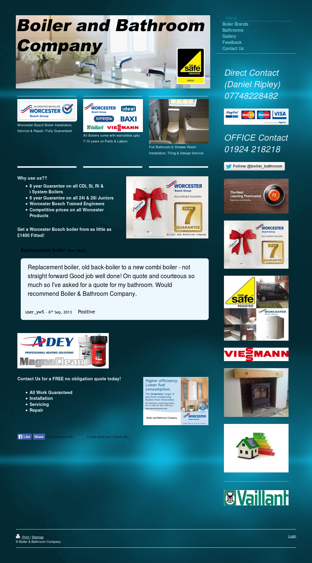Boiler & Bathroom Company Competitors, Revenue and Employees - Owler ...