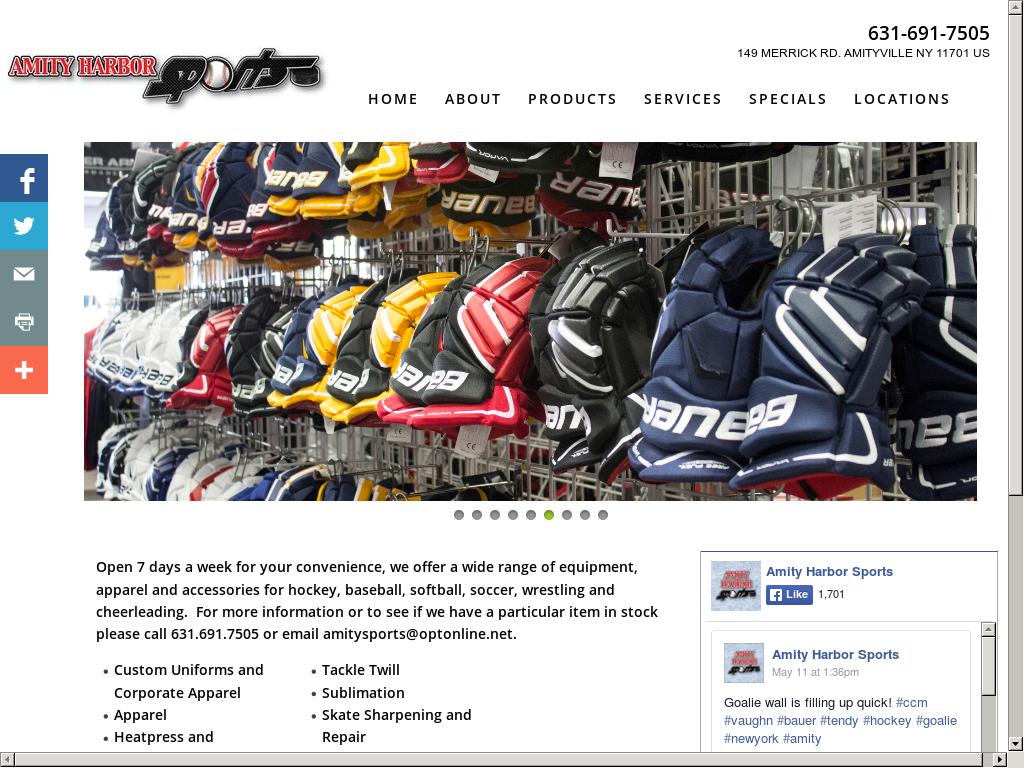 Amity harbor sports website