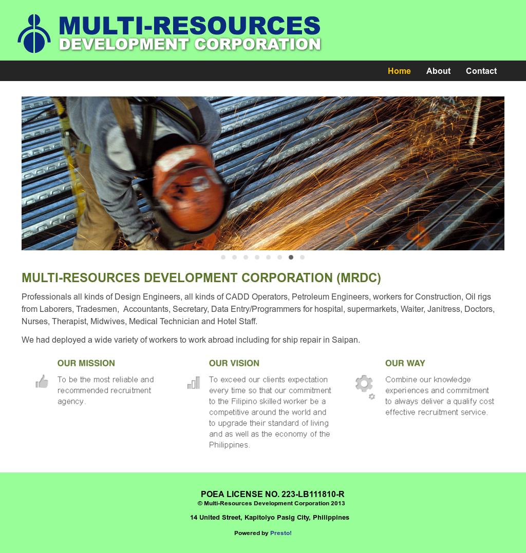 Multi-resources Development Competitors, Revenue and
