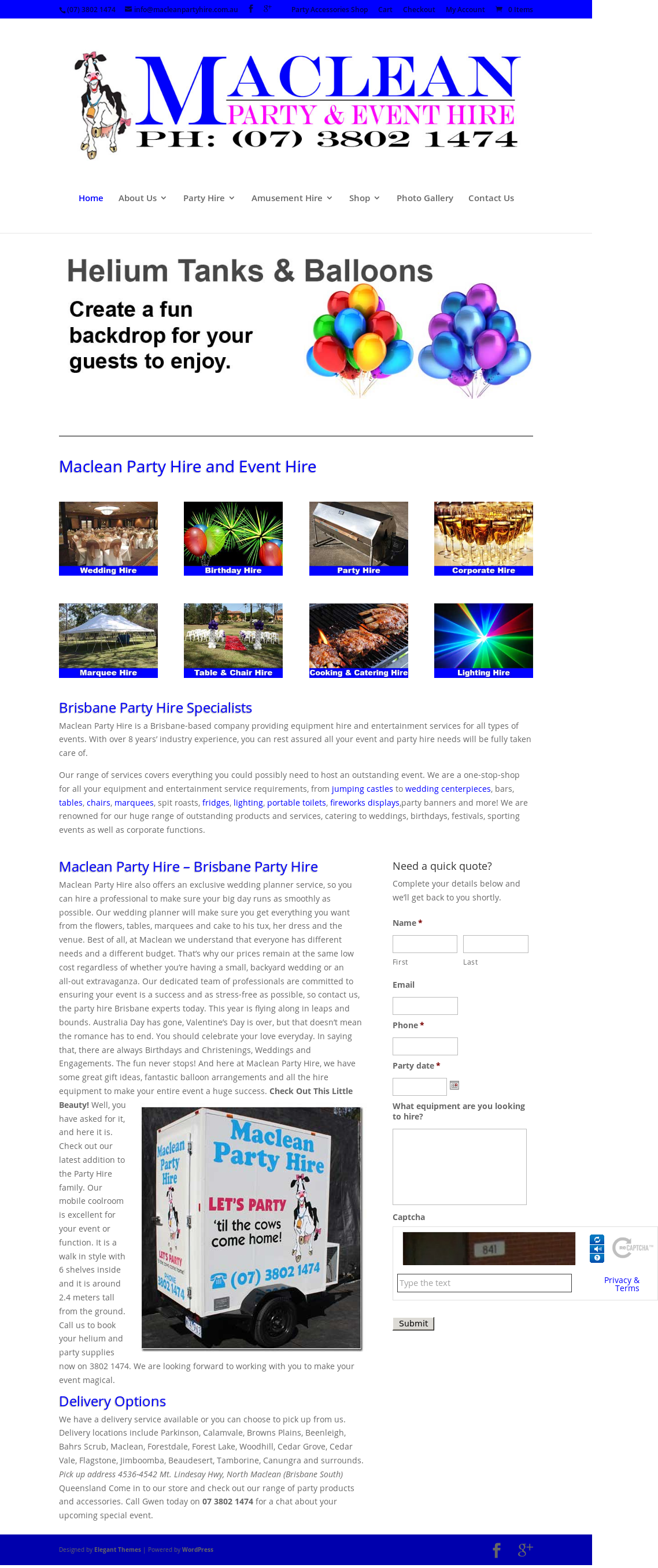 Maclean Party Hire & Event Styling Competitors, Revenue and