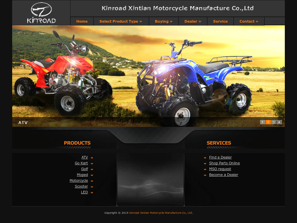 Kinroad Xintian Motorcycle Manufacture Competitors, Revenue and