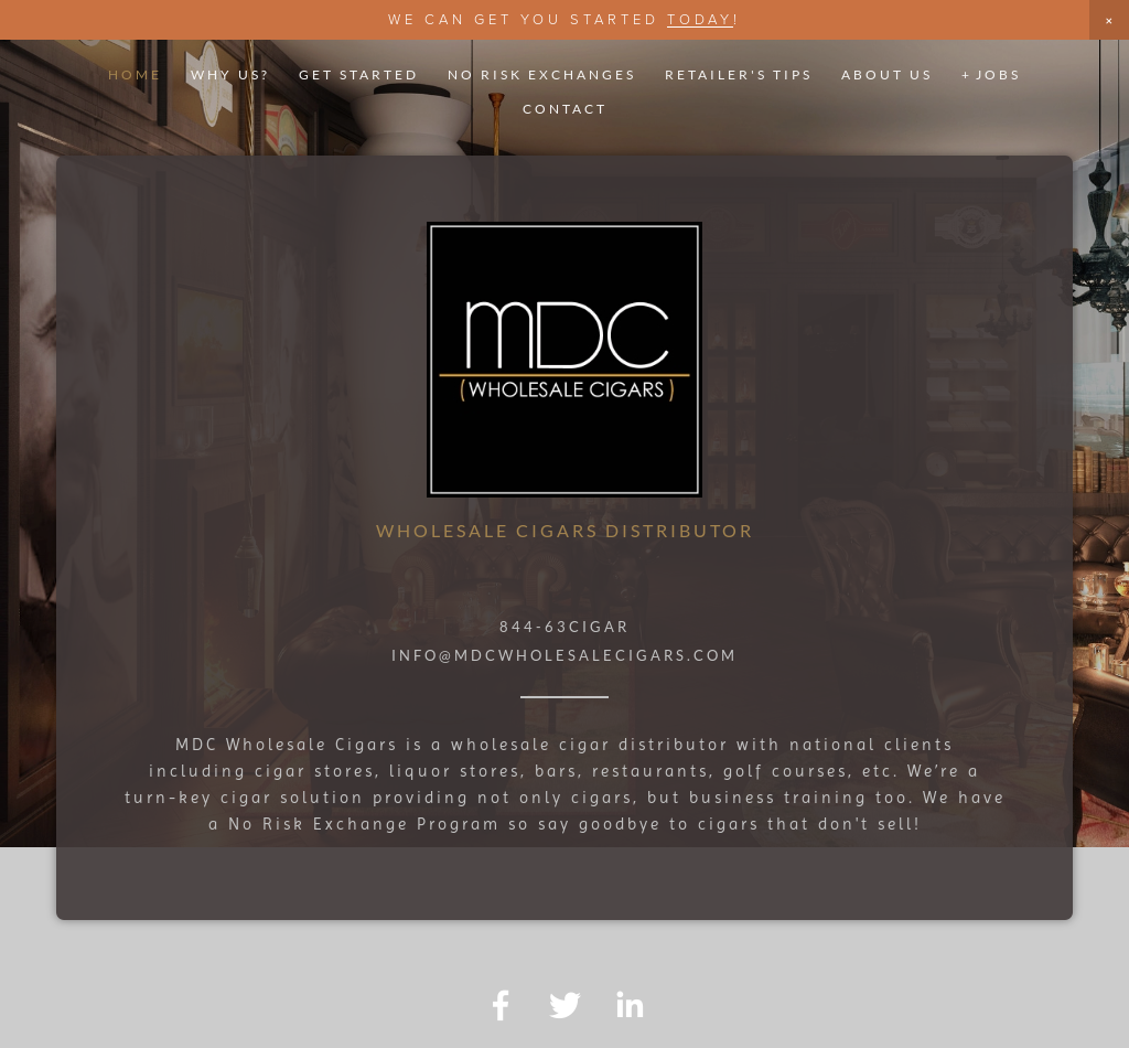 Mdc Wholesale Cigars Competitors, Revenue and Employees