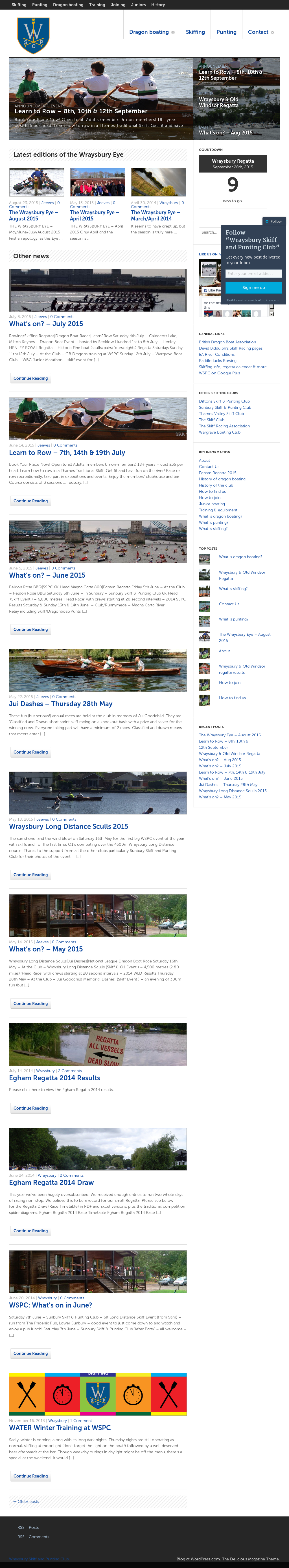 Wraysbury Skiff And Punting Club Competitors Revenue And Employees Owler Company Profile