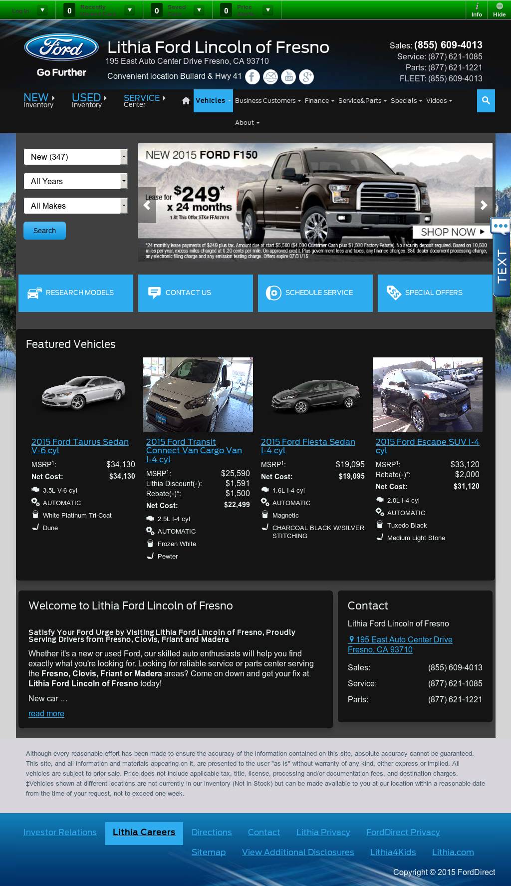 Lithia Ford Fresno >> Lithia Ford Of Fresno Competitors Revenue And Employees Owler