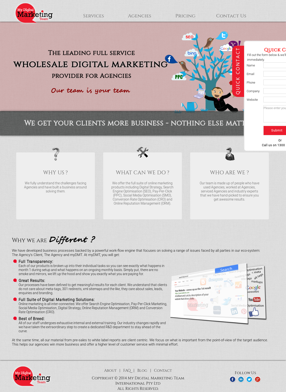 My Digital Marketing Team Competitors, Revenue and Employees - Owler