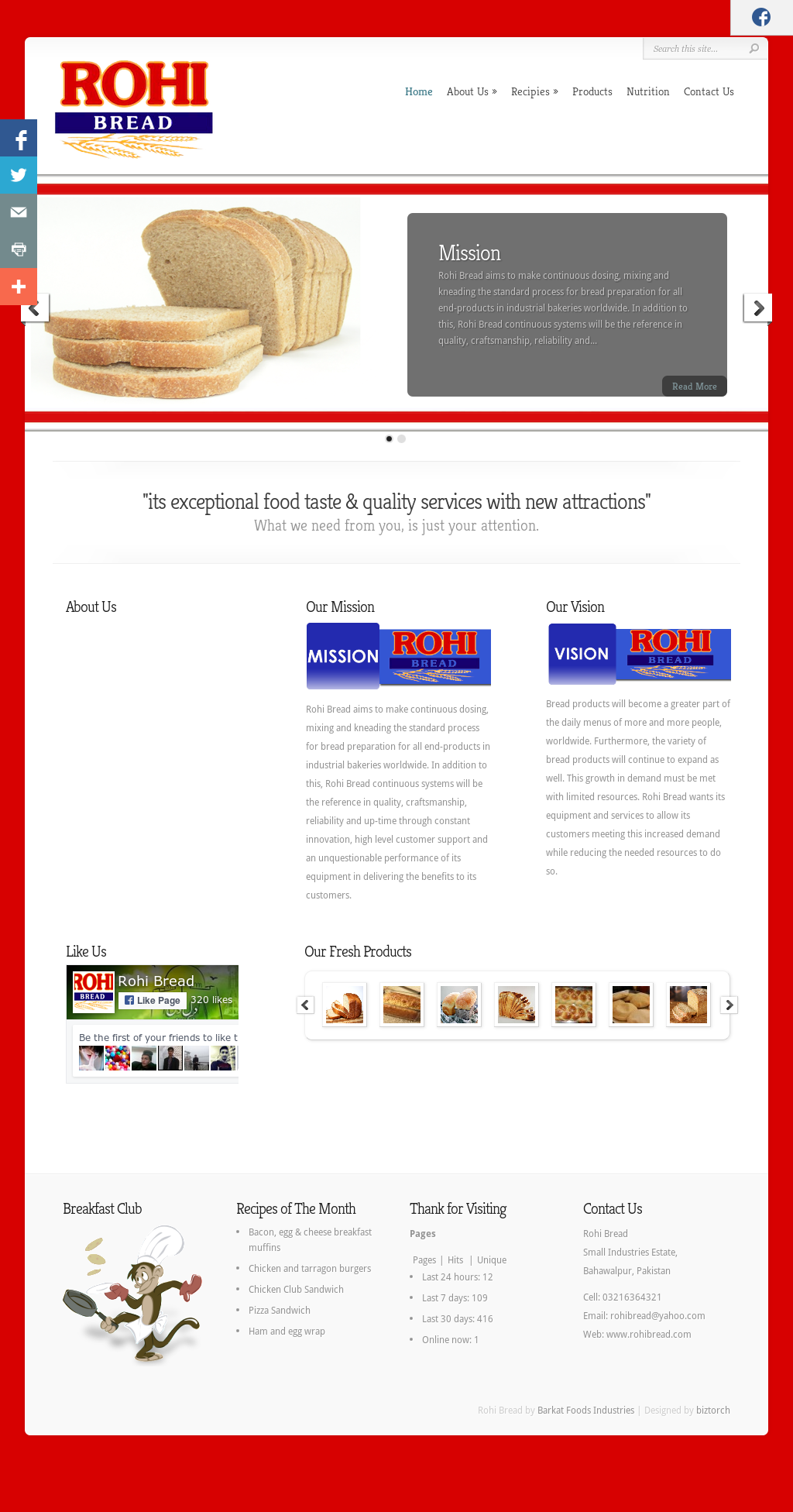 Rohi website