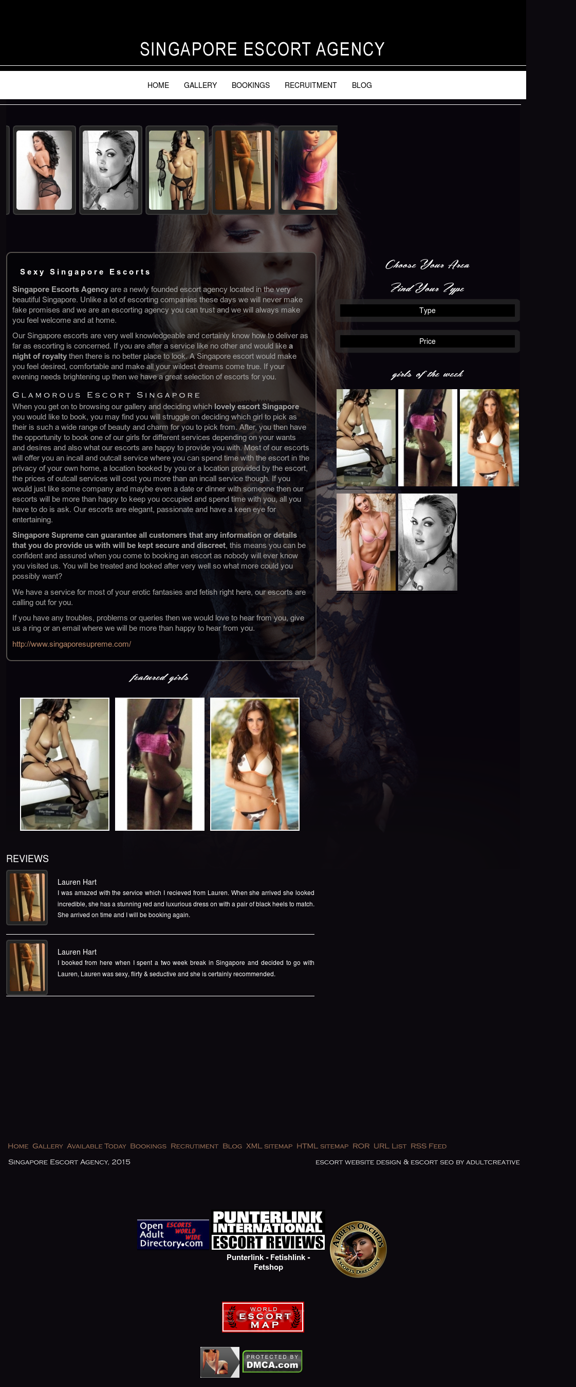 Singapore Escort Agency Competitors, Revenue and Employees - Owler Company  Profile