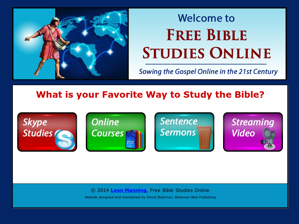 Leon Manning, Free Bible Studies Online Competitors, Revenue and