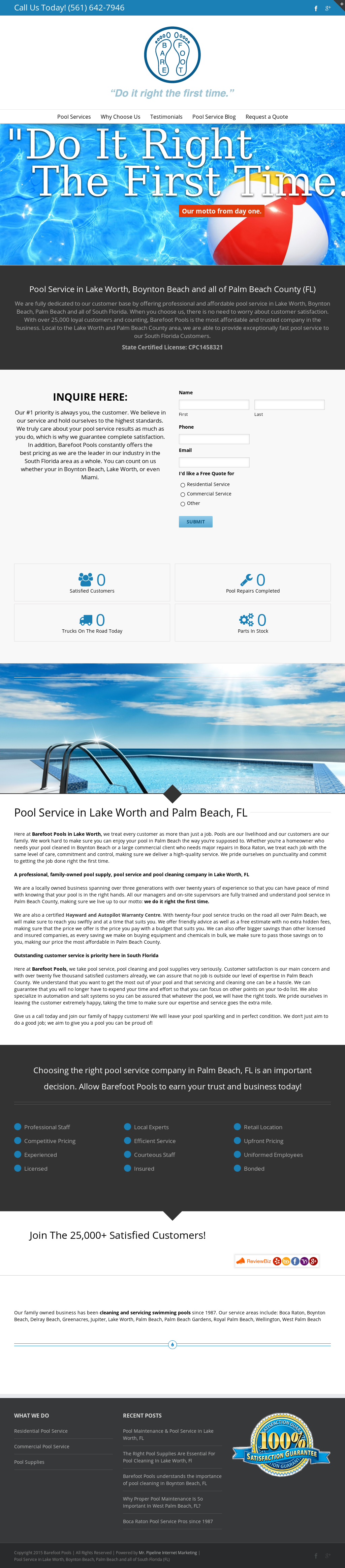 Barefoot Pools Lake Worth Fl Travel Guide