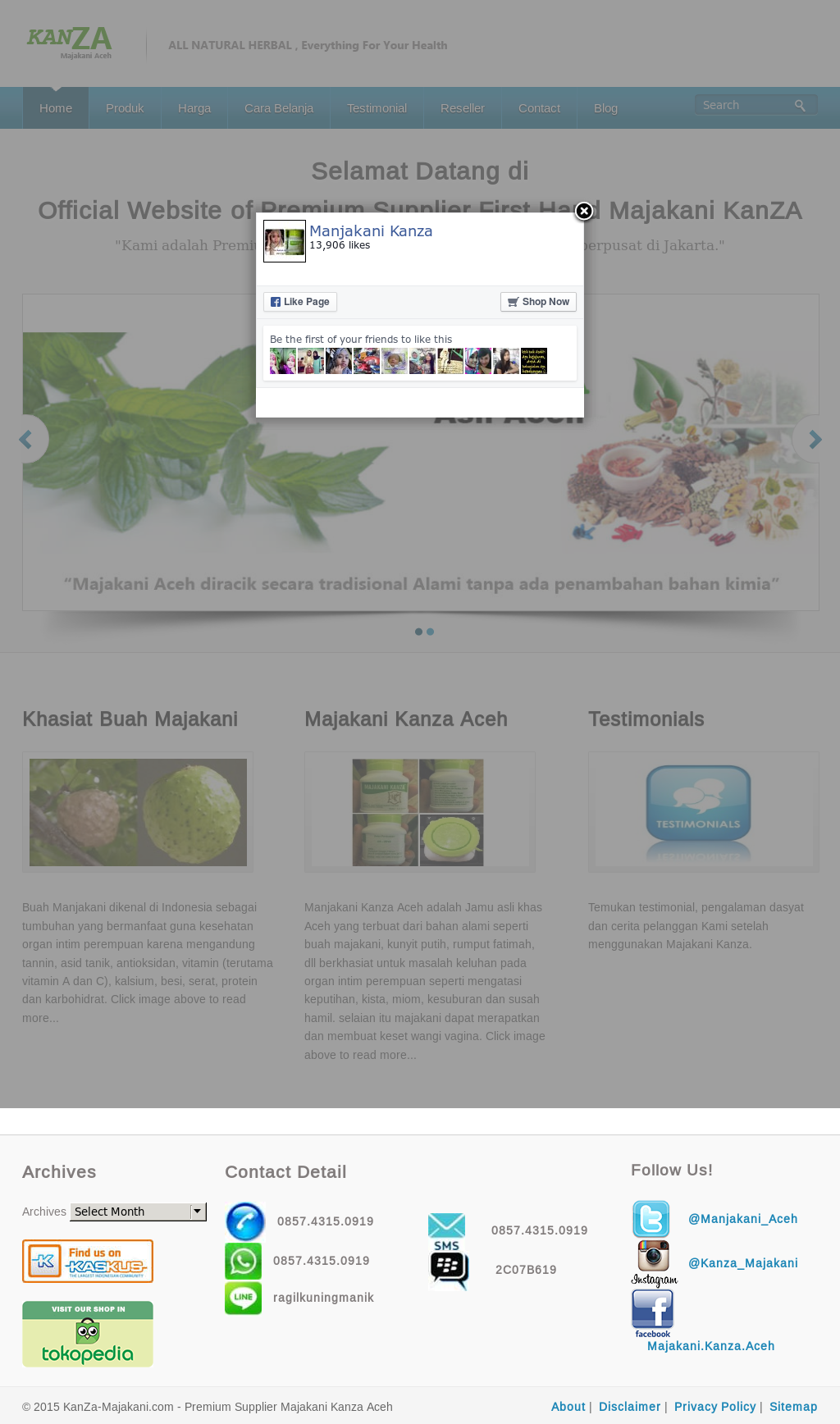 Manjakani Kanza Competitors Revenue And Employees Owler Company Jamu Majakani Profile