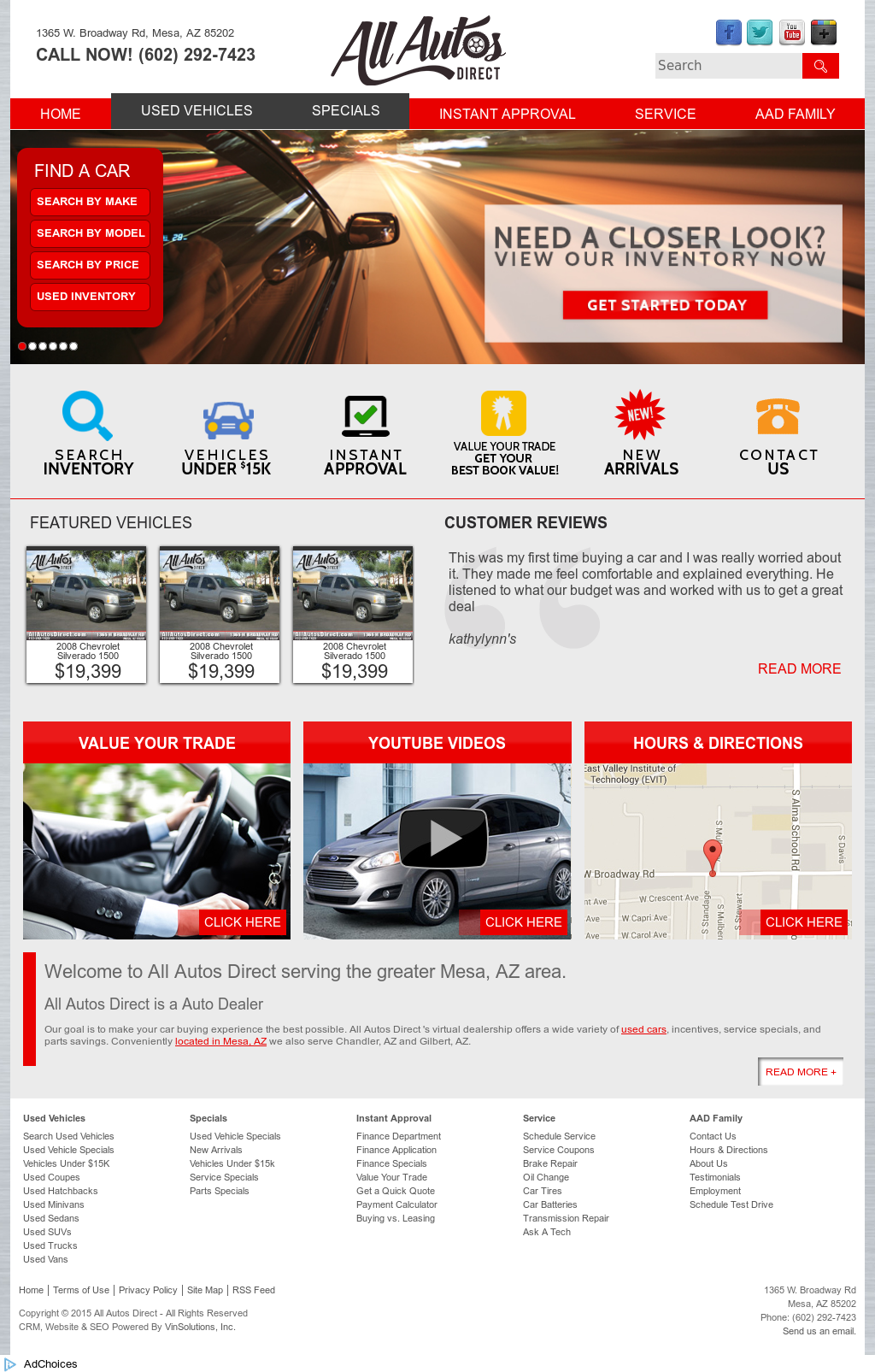 All Autos Direct Compeors Revenue And Employees Owler Company Profile