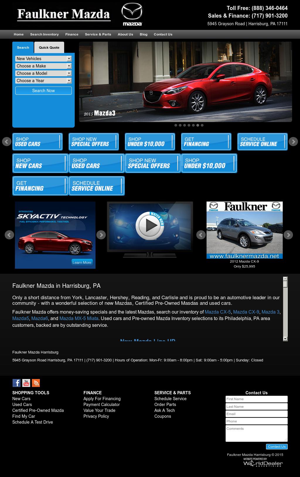 Faulkner Mazda Competitors, Revenue And Employees   Owler Company Profile