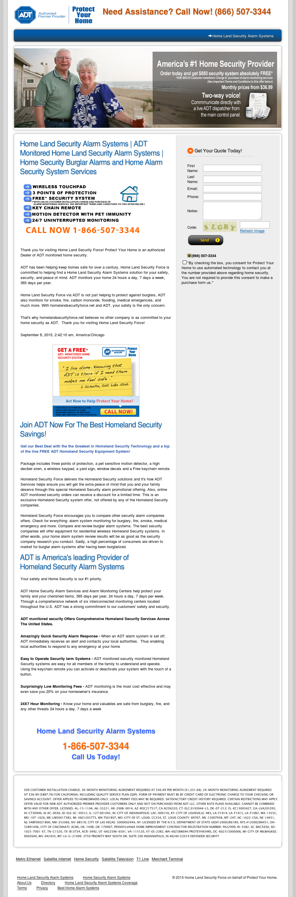 Home Land Security Force On Behalf Of Protect Your Compeors Revenue And Employees Owler Company Profile