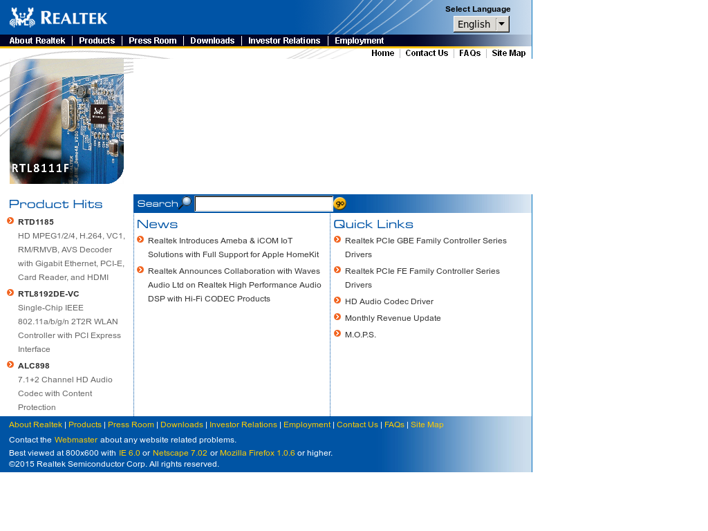 Realtek Competitors, Revenue and Employees - Owler Company Profile