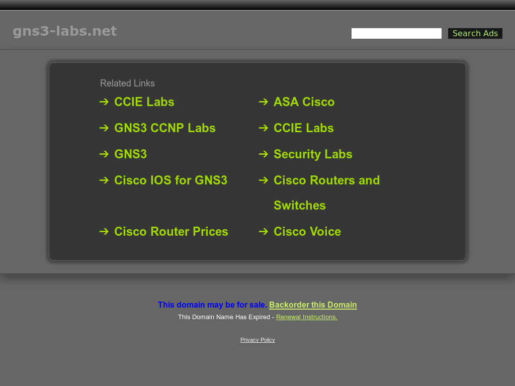Gns3 Labs Competitors, Revenue and Employees - Owler Company Profile