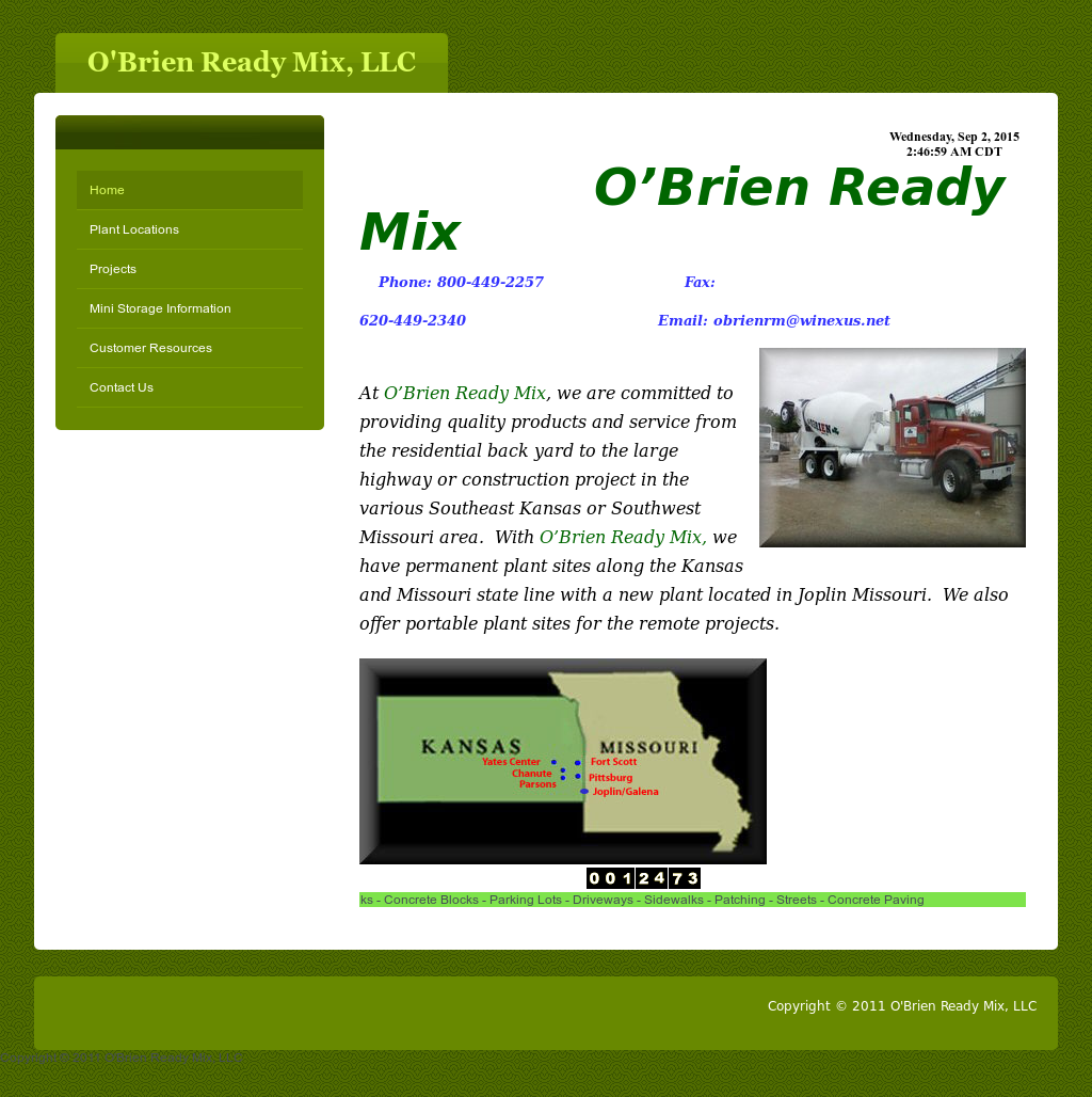 Obrienreadymix Compeors Revenue And Employees Owler Company Profile