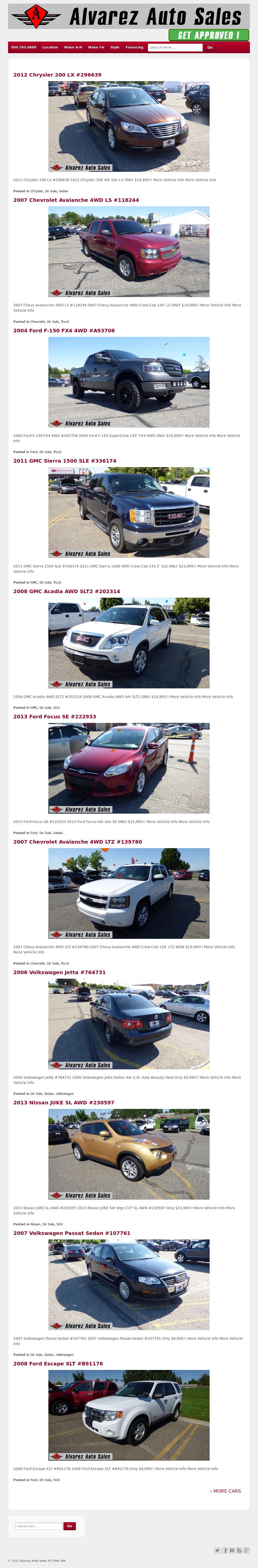 Alvarez Auto Sales >> Alvarez Auto Sales Competitors Revenue And Employees