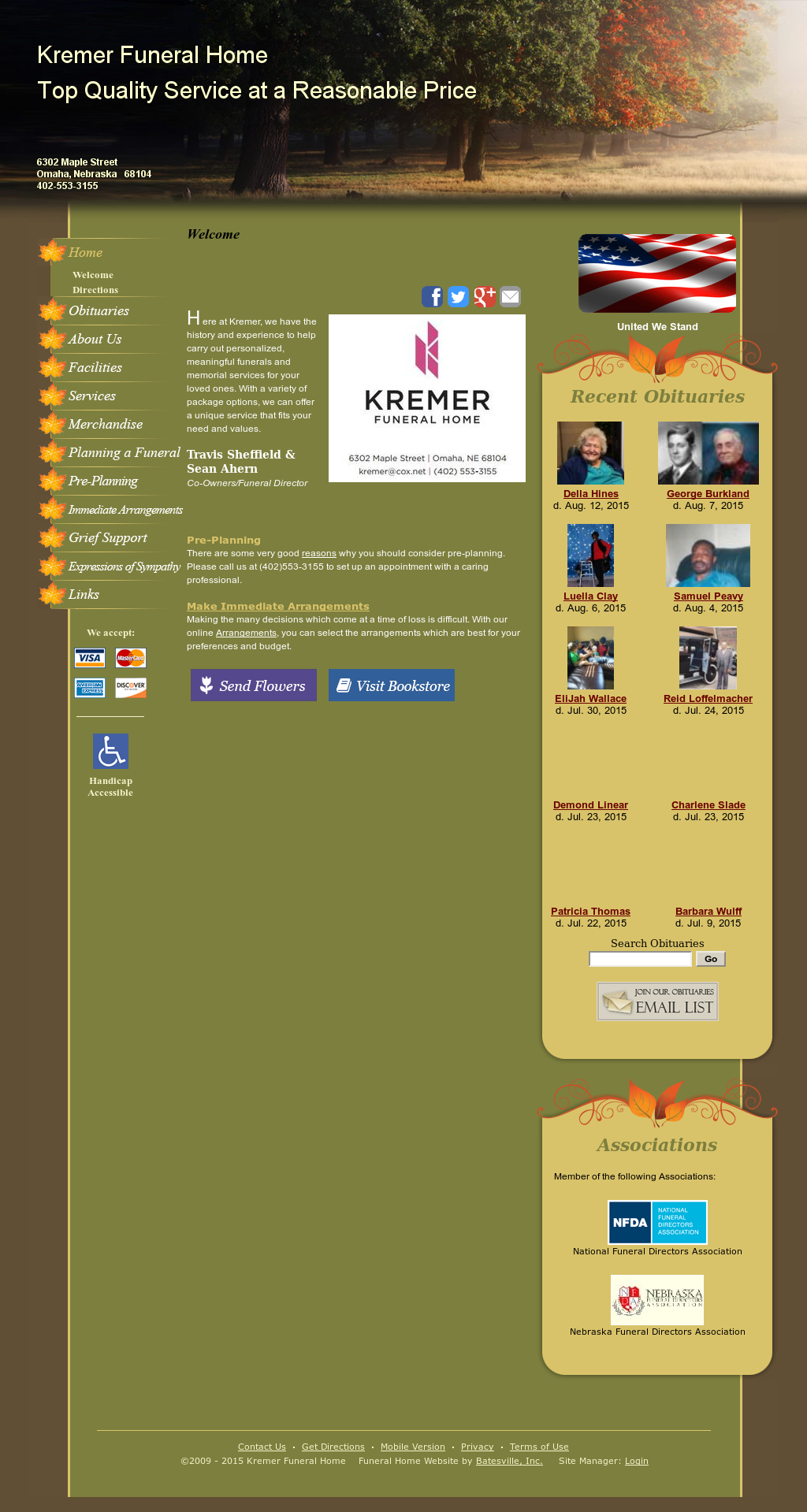 Kremer Funeral Home Funeral Home Competitors, Revenue and