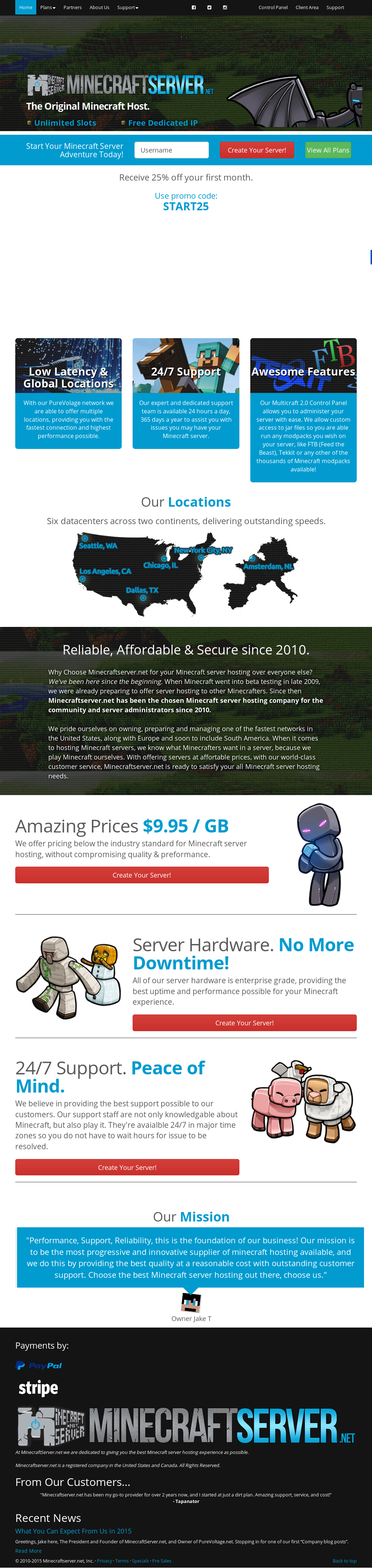Minecraftserver Competitors, Revenue and Employees - Owler Company