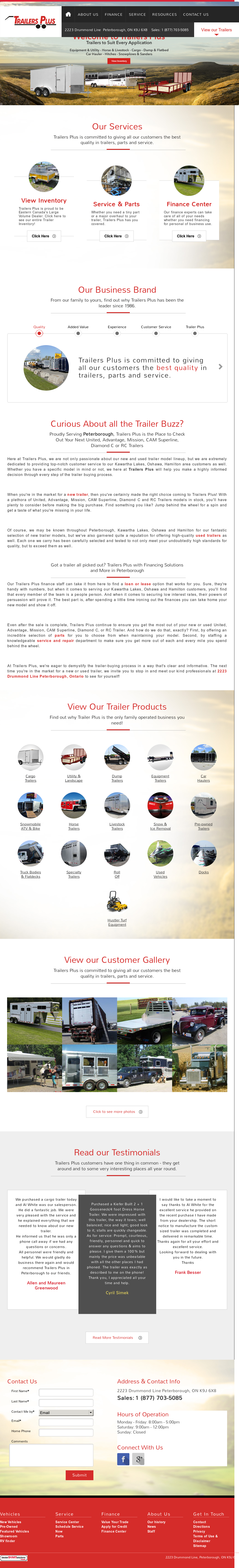 Trailers Plus Peterborough >> Trailers Plus Competitors Revenue And Employees Owler Company Profile