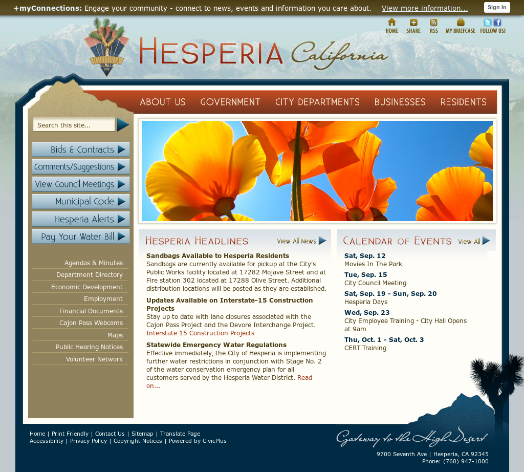 City Of Hesperia Competitors, Revenue and Employees - Owler
