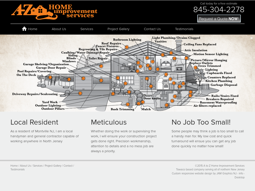 A To Z Home Improvement Services Compeors Revenue And