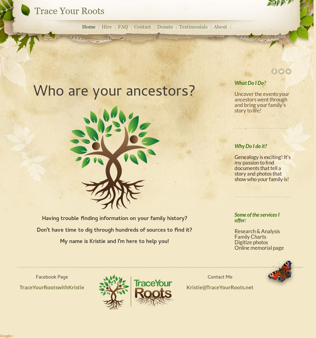 Trace Your Roots Competitors, Revenue and Employees - Owler