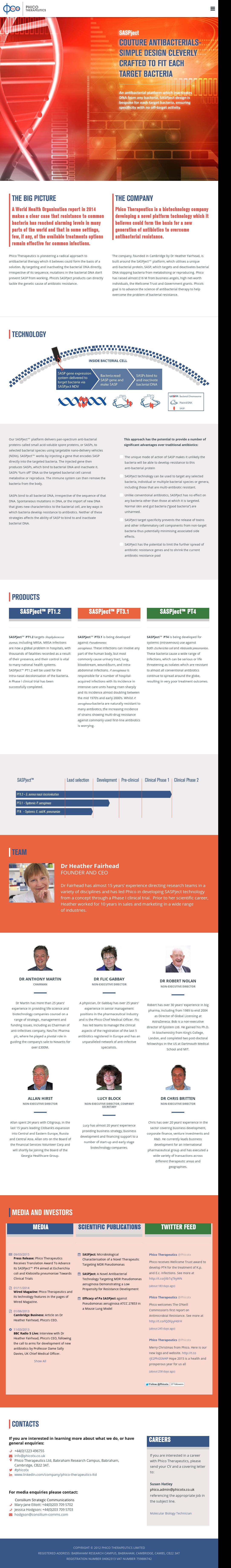 Phico Therapeutics Competitors, Revenue and Employees - Owler ...