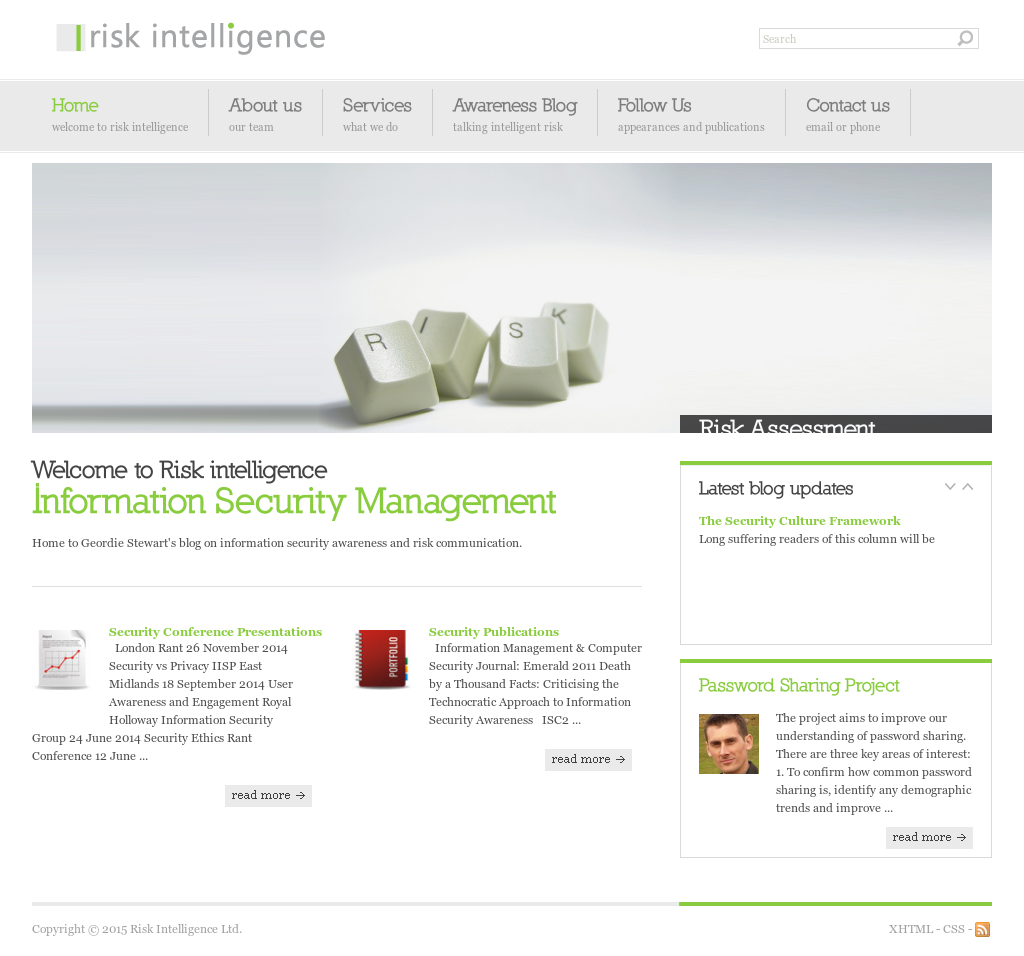 Risk Intelligence Competitors, Revenue and Employees - Owler Company