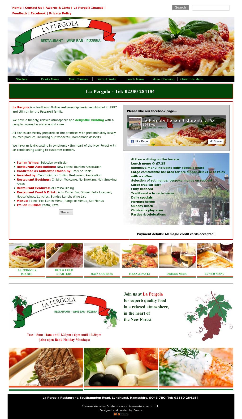 La Pergola Italian Ristorante / Pizzeria Competitors, Revenue and ...