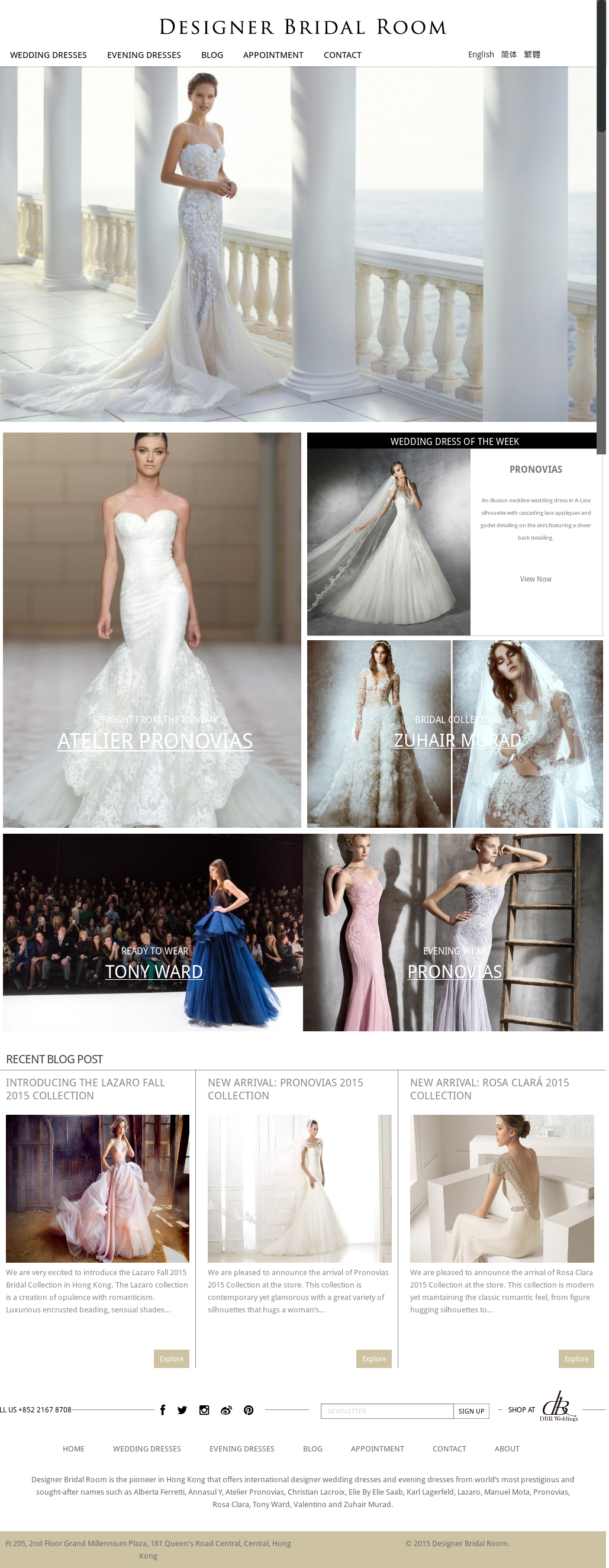 Designer Bridal Room Hong Kong Competitors Revenue and Employees