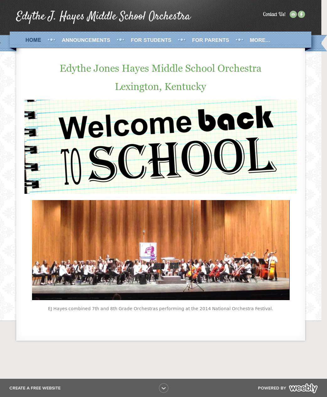 Edythe J Hayes Middle School Orchestra Competitors, Revenue