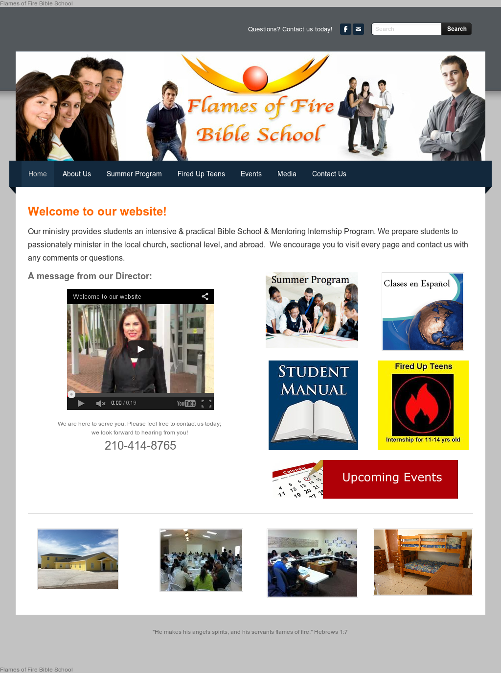 Flames Of Fire Bible School Competitors, Revenue and