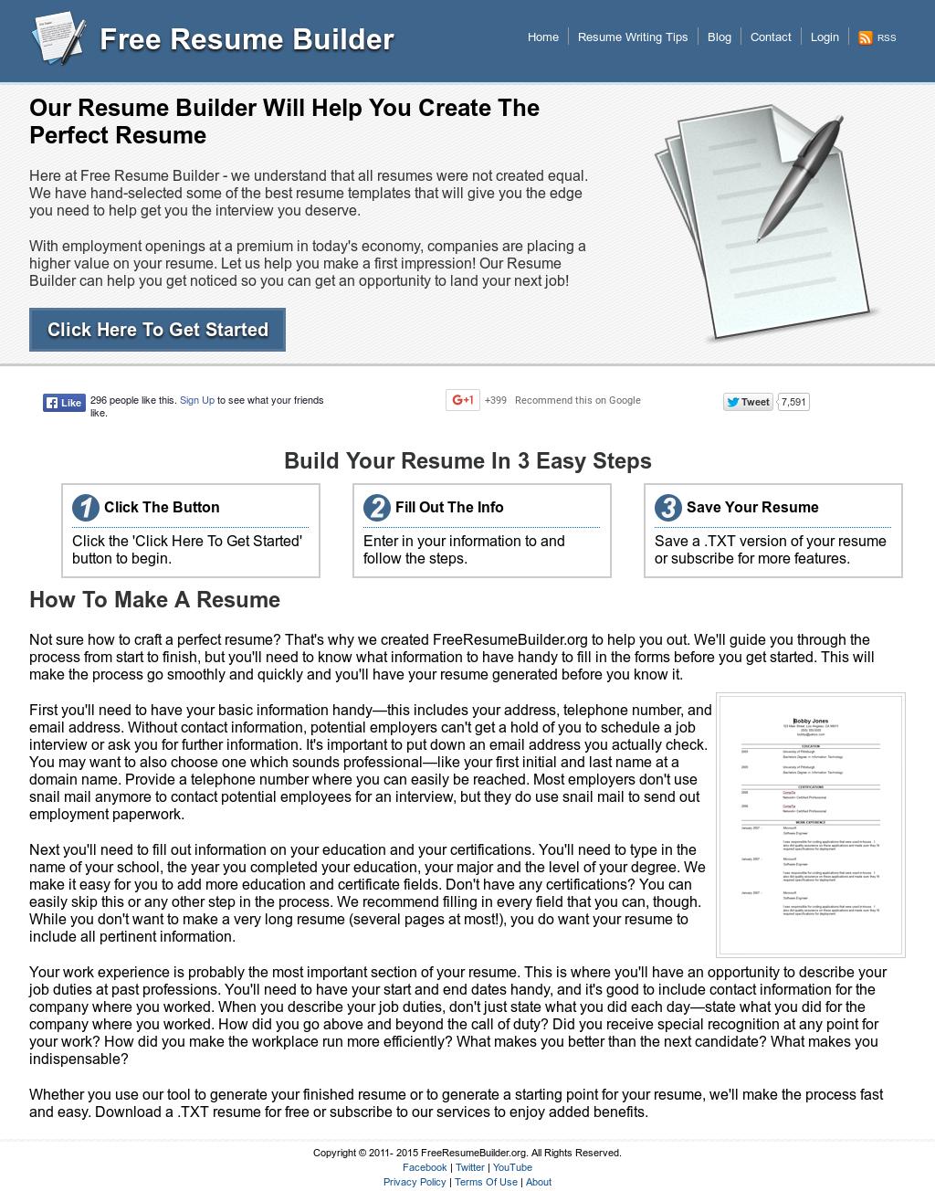 Excellent Resume Builder Steps Contemporary - Entry Level Resume ...