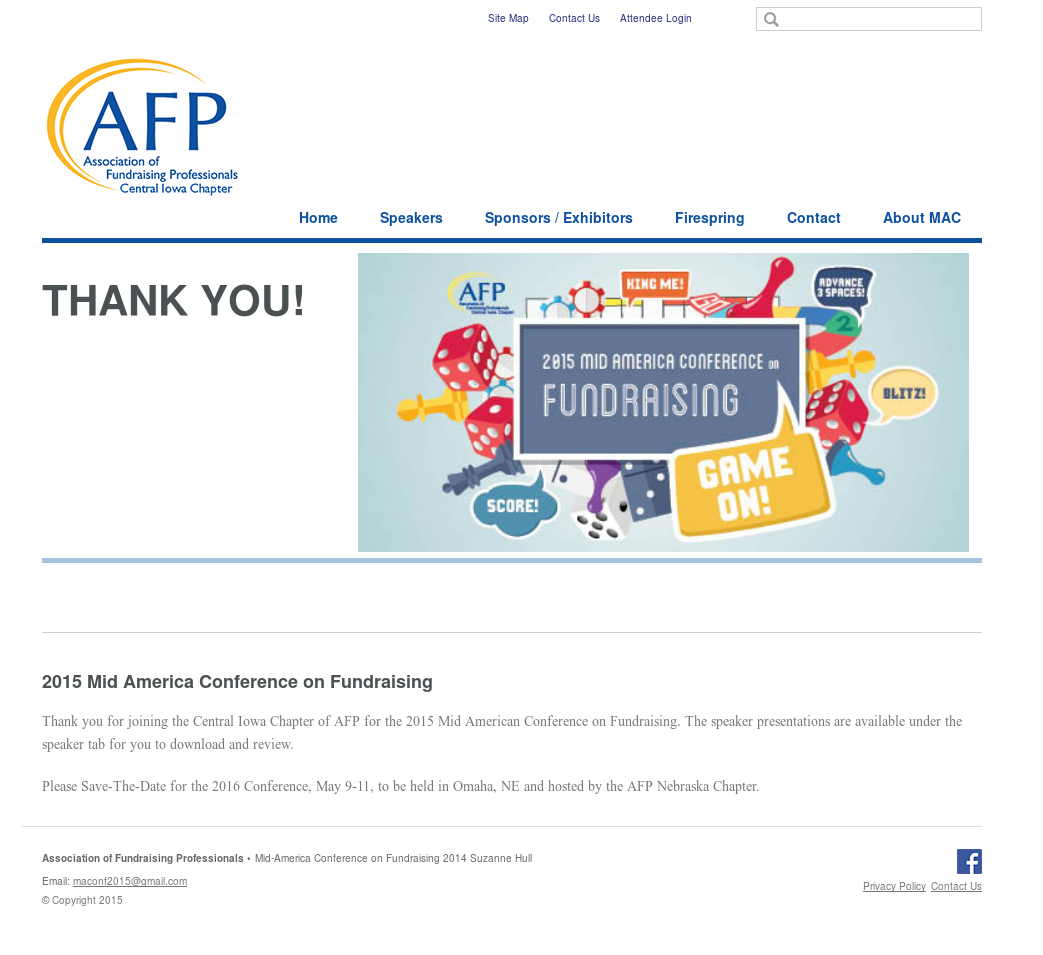 Afp Mid-america Conference On Fundraising Competitors