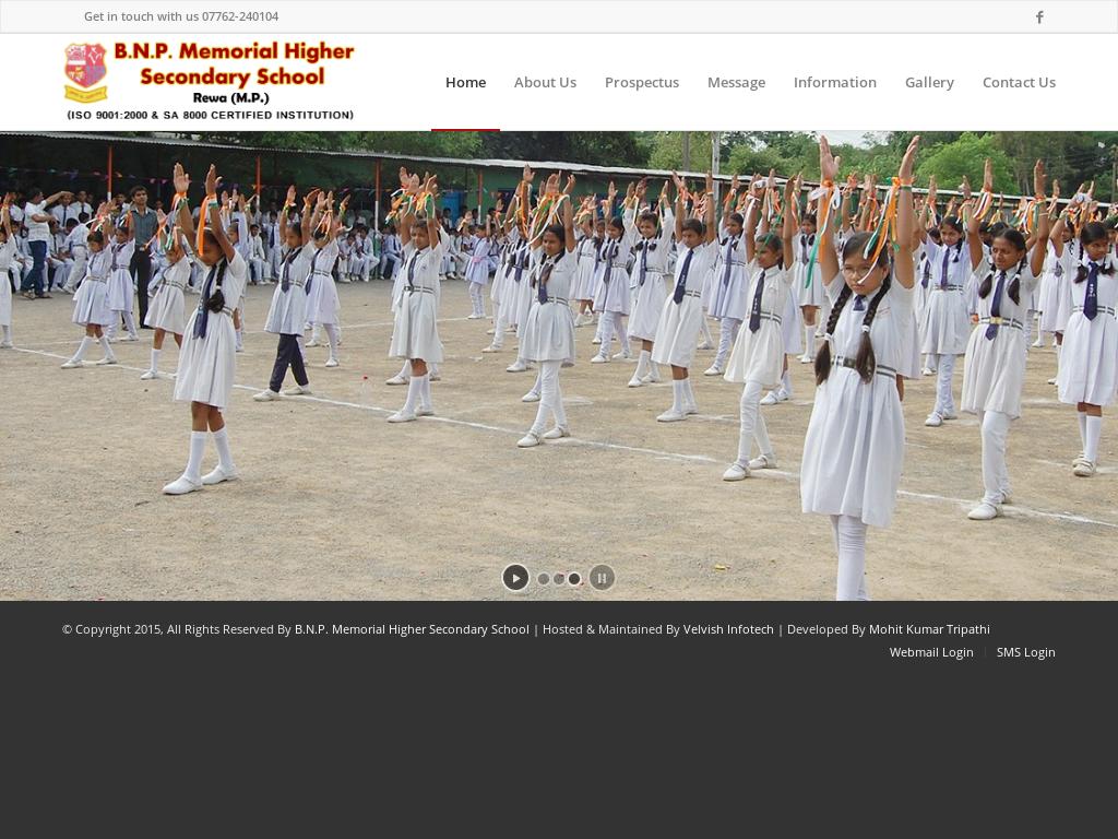 Bnp Memorial Higher Secondary School, Rewa Competitors, Revenue and
