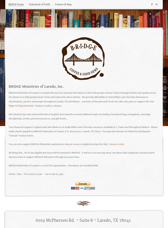 B r i d g e  Ministries Of Laredo Competitors, Revenue and