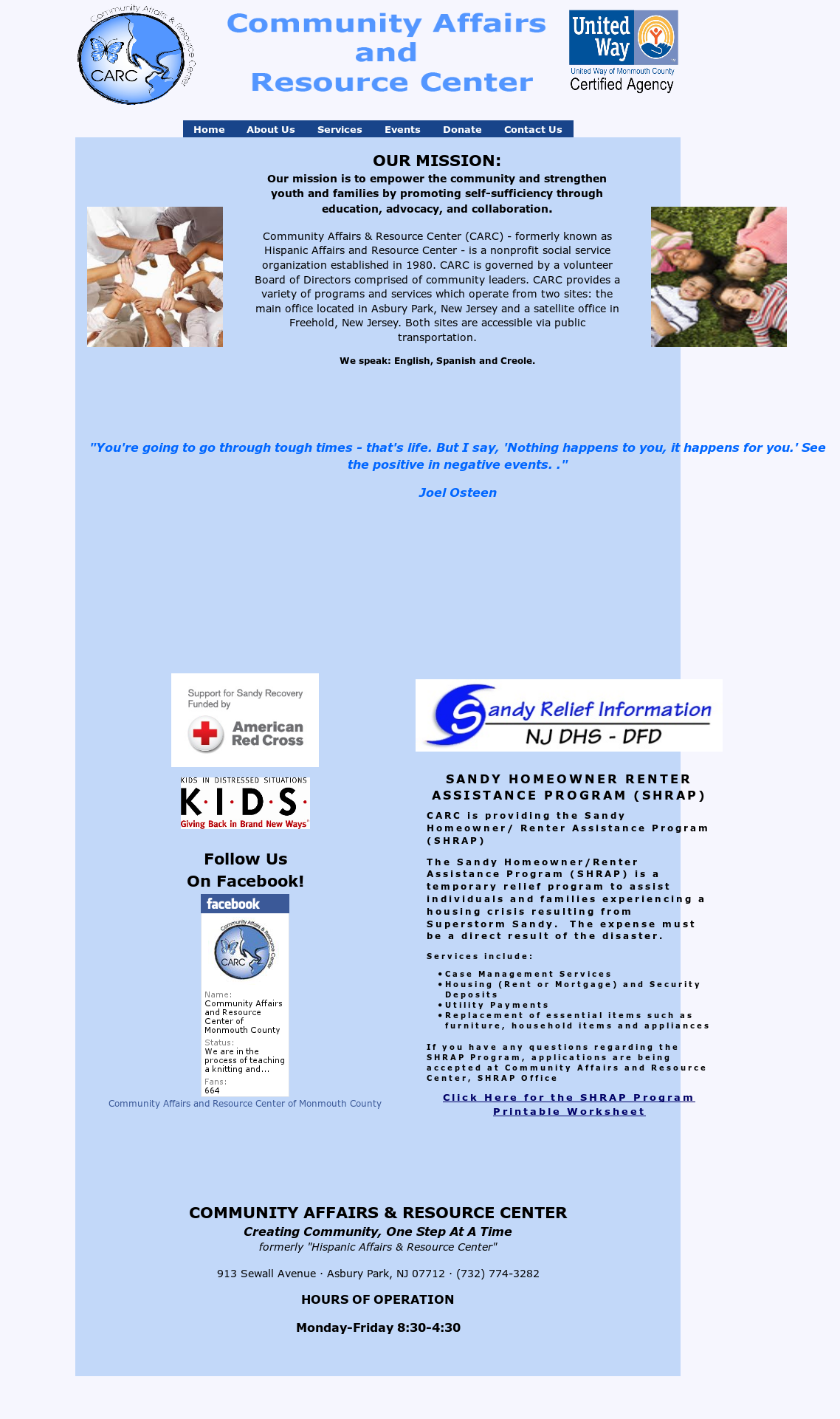 Community Affairs And Resource Center Of Monmouth County Competitors
