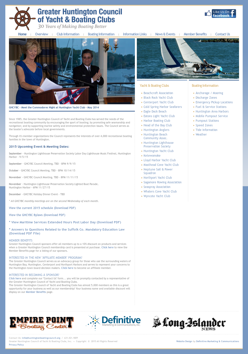 Greater Huntington Council Of Yacht And Boating Clubs-ghcybc
