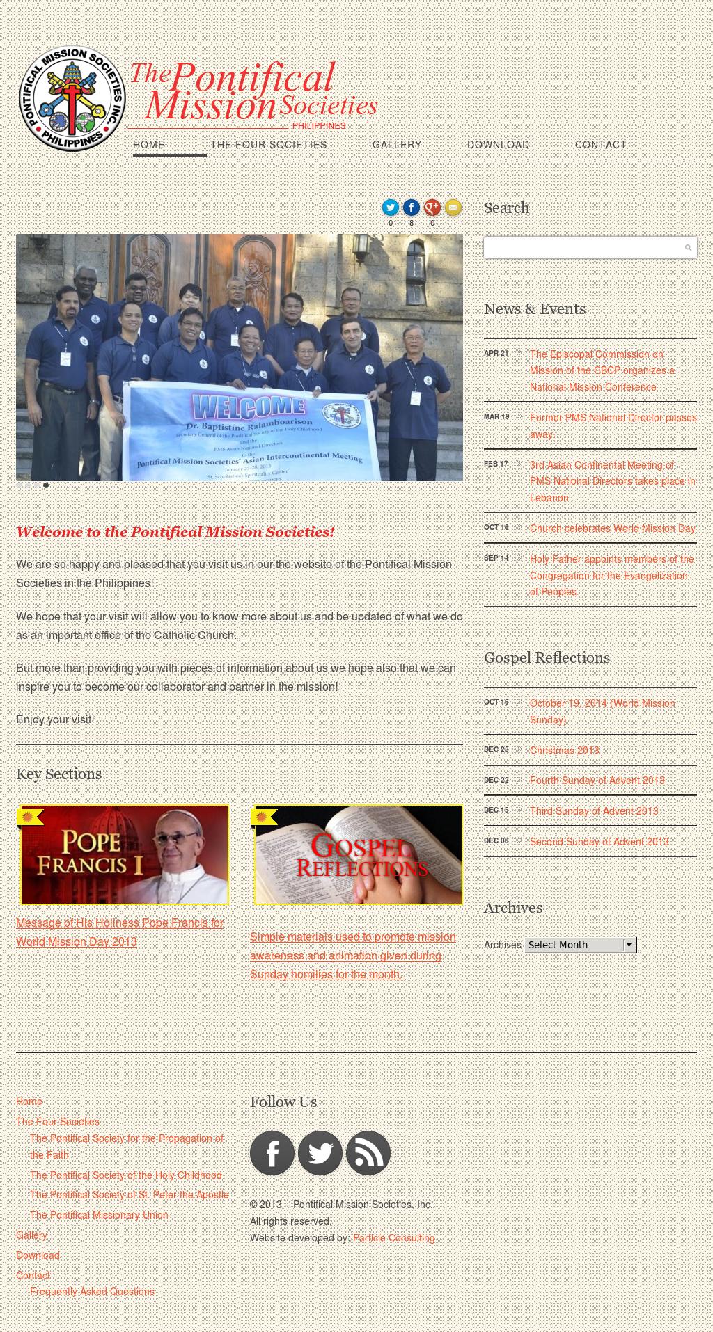 Pontifical Mission Societies Philippines Competitors